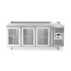 Stół chłodniczy przeszklony - 420 L - HENDI