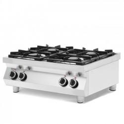Kuchnia gazowa 4-palnikowa Kitchen Line, stołowa