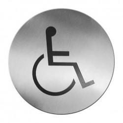 Tabliczka informacyjna samoprzylepna - miejsce przystosowane dla niepełnosprawnych