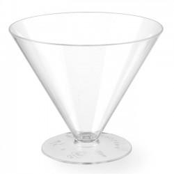 Pucharek do przekąsek fingerfood – jednorazowy zestaw 100 szt.