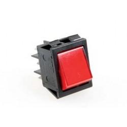 Włącznik czerwony 16A 250V