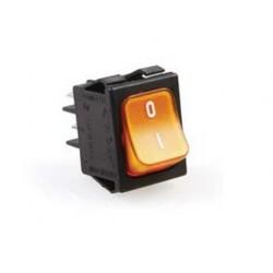 Przełącznik 2-biegunowy pomarańczowy 16A 250V