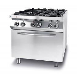 Kuchnia gazowa 4 - pal. konwekcyjny piekarnik elektryczny