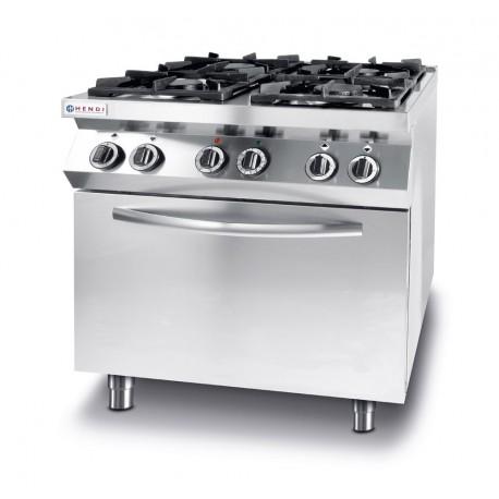 Kuchnia Gazowa 4 Pal Konwekcyjny Piekarnik Elektryczny Dobra
