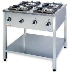 Kuchnia 4 palnikowa KG-4L -Kromet