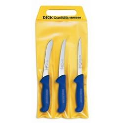 Zestaw noży masarskich firmy DICK z serii ERGOGRIP