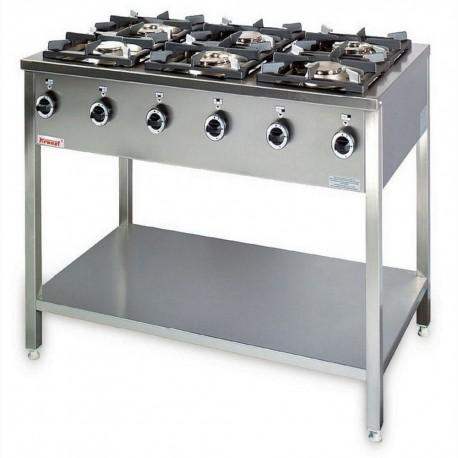Kuchnia 6 palnikowa KG-6L - Kromet