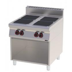 Kuchnia elektryczna otwarta podstawa - SPQ 90 / 80 E RED FOX