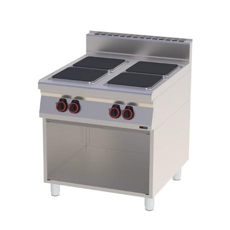 Kuchnia elektryczna otwarta podstawa - SPQ 90 / 40 E RED FOX