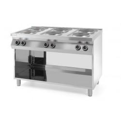 Kuchnia elektryczna 6 płytowa bez piekarnika