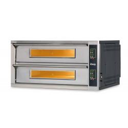 Elektromechaniczny piec do pizzy, dwukomorowy 8x35CM