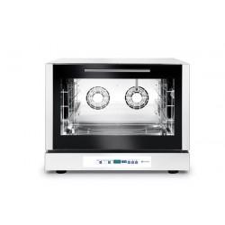 Piec piekarniczy, konwekcyjny z nawilżaniem 4x600x400mm - elektryczny, sterowanie elektroniczne, programowalny, trójfazowy