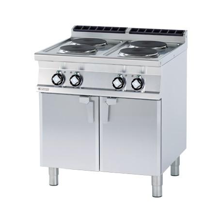 Kuchnia elektryczna z płytą grzewcza oraz z szafką - PC-78 ET