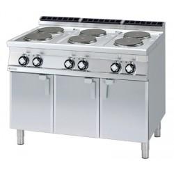 Kuchnia elektryczna z płytą grzewcza oraz z szafką - PC-712 ET