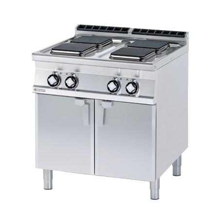 Kuchnia elektryczna z płytą grzewcza oraz z szafką - PCQ-78ET