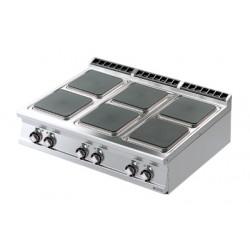 Kuchenka elektryczna stołowa 6 płyty RM GASTRO PCQT-912 ET