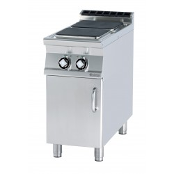 Kuchnia elektryczna z szafką otwartą - RM GASTRO PCQ-94 ET