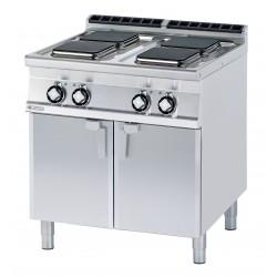 Kuchnia elektryczna z szafką otwartą - RM GASTRO PCQ-98 ET