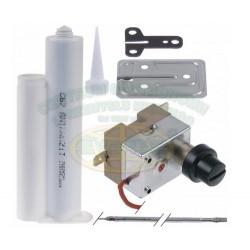 Termostat bezpieczeństwa 1-fazowy 318 °C 3x137mm dł. kapilary 1260mm 330°c safety thermostat kit
