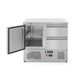 Stół chłodniczy 1 drzwi ,2 szyflady -  HENDI  - 300 L