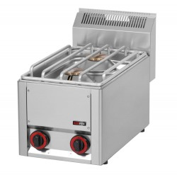 Kuchnia gazowa gastronomiczna 2 pal RED FOX 600 SP-30 GLS