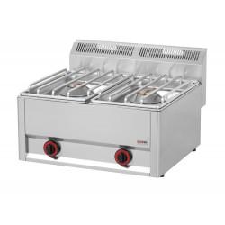 Kuchnia gazowa gastronomiczna 2 pal RED FOX SP- 60/2GLS 600