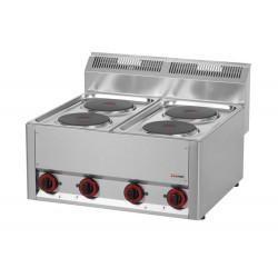 Kuchnia elektryczna gastro 4 płytowa RED FOX SP -60 ELS 600