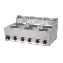 Kuchnia elektryczna gastro 6 płytowa RED FOX SP -90 ELS 600
