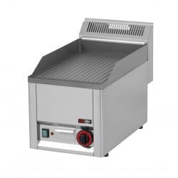 Płyta grillowa elektryczna FTR-30 EL - ryflowana
