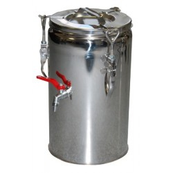 TERMOS STALOWY Z KRANEM - 20 L - RED FOX