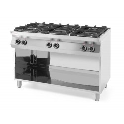 Kuchnia gazowa 6 płytowa bez piekarnika